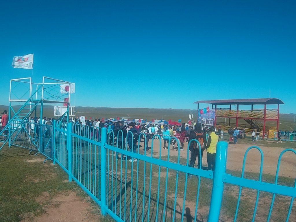モンゴル国際草原マラソン会場
