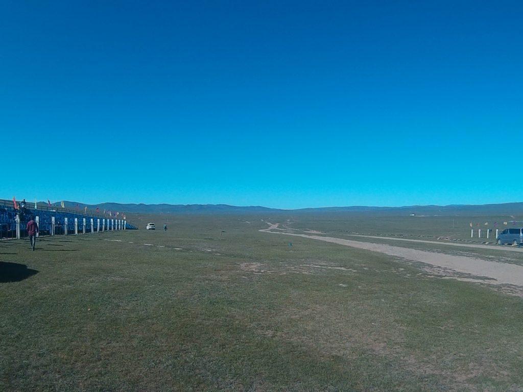 モンゴル国際草原マラソンのコース