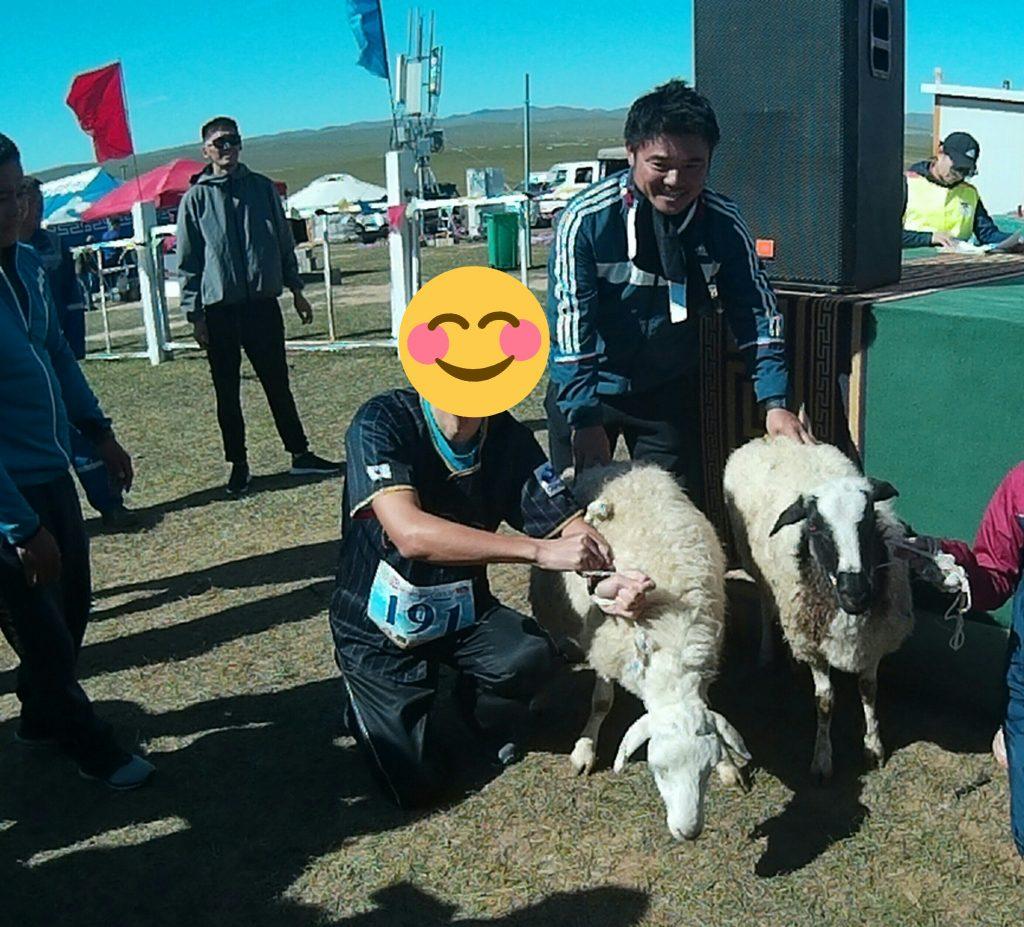 モンゴル国際草原マラソンで優勝